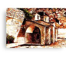 Greek Serenity Canvas Print