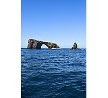 Arch Rock, Channel Islands National Park, California Photographic Print