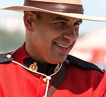 Canadian Mountie by Marylou Badeaux