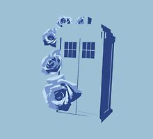 A Rose for the Doctor (blue) Unisex T-Shirt