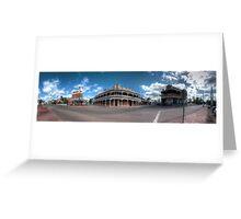 York Panorama Greeting Card