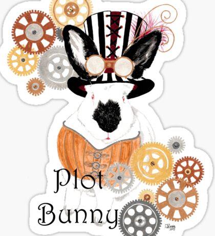 Plot Bunny - Steampunk Sticker