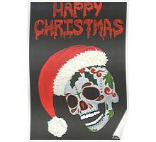 Sugar Skull- Happy Christmas Poster