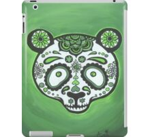 Sugar Skull- Green Panda iPad Case/Skin