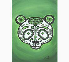 Sugar Skull- Green Panda Unisex T-Shirt