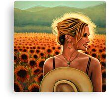 Julia Roberts Painting Canvas Print