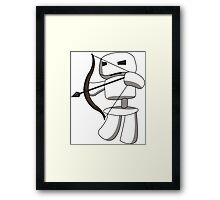 Skeleton Archer For Minecraft  Framed Print