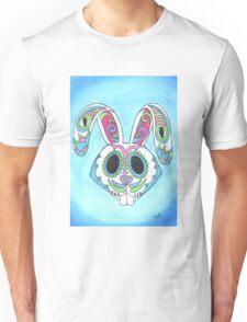 Skull Candy Easter Bunny Sugar Skull Unisex T-Shirt