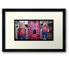 Spread The Word Framed Print