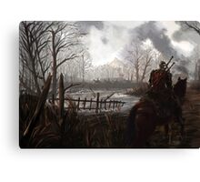 Witch Hunter Raids Canvas Print