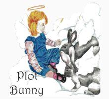 Plot Bunny - Religious Kids Tee