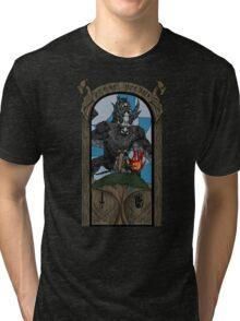 Skyrim fight  Tri-blend T-Shirt