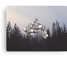Lost in this World  Canvas Print