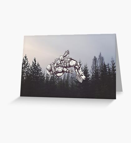 Lost in this World  Greeting Card
