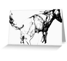 Horse (imaginary) -(010914)- Digital artwork/Harmony Greeting Card