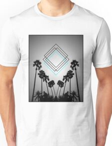 Palm Squares Unisex T-Shirt