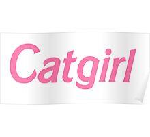 Catgirl Poster
