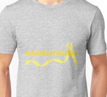 Awareness Starts Here - Yellow Unisex T-Shirt