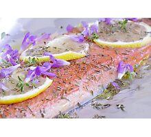 BBQ Dreams-Ontario Wild Lake Trout & Wild Caught Salmon Photographic Print