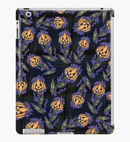 Jack-o-Lantern Flower iPad Case/Skin