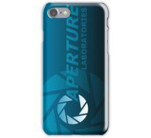 Aperture Laboratories Stencil iPhone Case/Skin