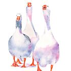 Geese by Louise De Masi