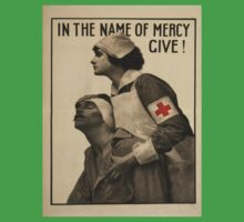 Vintage poster - Red Cross One Piece - Short Sleeve