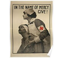 Vintage poster - Red Cross Poster