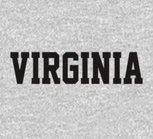 Virginia Jersey Black by USAswagg2