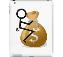 Fuck The Money Cool Funny Icon  iPad Case/Skin