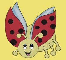 ladybug One Piece - Short Sleeve