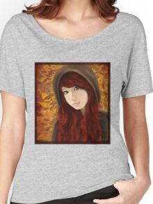 A Fall Scene  Women's Relaxed Fit T-Shirt