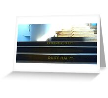 Stairs somewhere..........Museum of Design........... Greeting Card