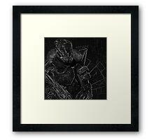 Destiny - Titan Framed Print