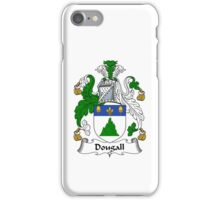Dougall Coat of Arms / Dougall Family Crest iPhone Case/Skin
