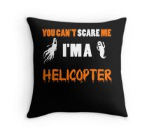 You Can't Care Me - Helicopter T-shirts - Halloween T-shirts Throw Pillow