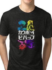 Cowboy Bebop - Bebop Crew Tri-blend T-Shirt