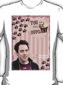 My Teenwolfed Valentine [You Can Call Me Cupcake] T-Shirt