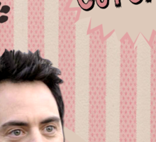 My Teenwolfed Valentine [You Can Call Me Cupcake] Sticker