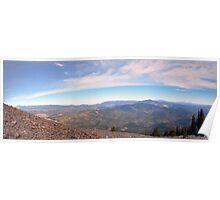 Mountain Overlook Poster