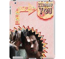My Teenwolfed Valentine [I Would Kidnap You] iPad Case/Skin