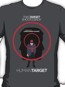 Human Target - Christopher Chance TV/Comic Minimalist  T-Shirt