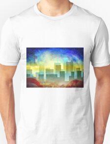 Minimalist, abstract colorful Urban design Unisex T-Shirt