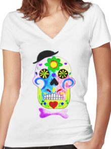 Ready to go out Women's Fitted V-Neck T-Shirt