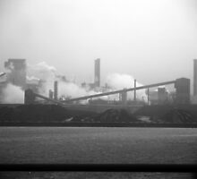 Hamilton steel works... by Ken Hill