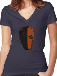 Deathstroke  Women's Fitted V-Neck T-Shirt