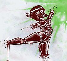 Robot Dancer by shayhorne
