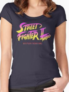 Street Fighter II Turbo Women's Fitted Scoop T-Shirt
