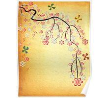 Blossoms & Butterflies Poster