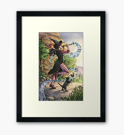 Everyday Witch Tarot - Judgment Framed Print
